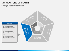5 Dimensions of health PPT slide 5