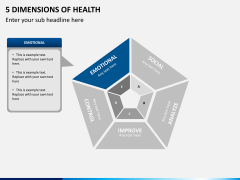 5 Dimensions of health PPT slide 6