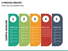 5 Process groups PPT slide 15