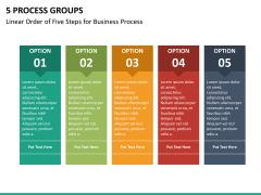 5 Process groups PPT slide 18