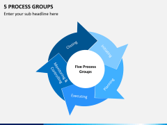 5 Process groups PPT slide 11