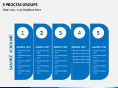 5 Process groups PPT slide 2