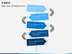5 Whys PPT slide 1
