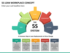5S learn workplace concept PPT slide 12
