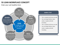 5S learn workplace concept PPT slide 18