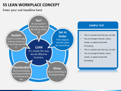 5S learn workplace concept PPT slide 6