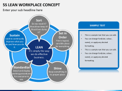 5S learn workplace concept PPT slide 9