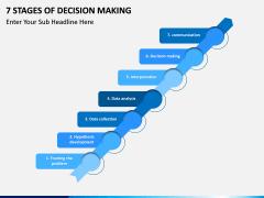 7 Stages of Decision Making PPT slide 3