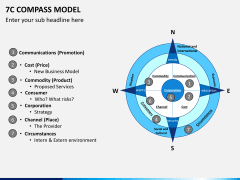 7C compass model PPT slide 2