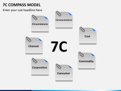 7C compass model PPT slide 3
