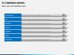 7C compass model PPT slide 4
