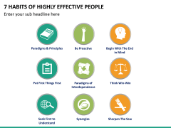 7 Habits of Stephen Covey PPT Slide 11