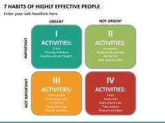 7 Habits of Stephen Covey PPT Slide 12