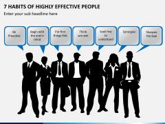 7 Habits of Stephen Covey PPT Slide 1