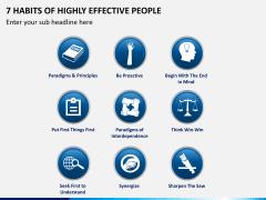 7 Habits of Stephen Covey PPT Slide 3