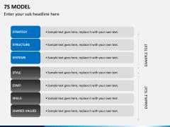 7S model PPT slide 10