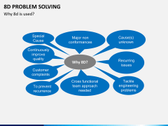 8D problem solving PPT slide 7