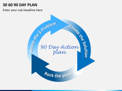 30 60 90 day plan PPT slide 18