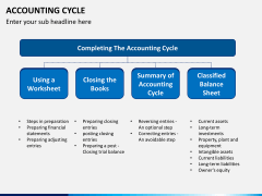 Accounting cycle PPT slide 8