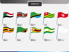 Africa flags PPT slide 4