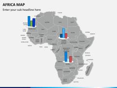 Africa map PPT slide 12