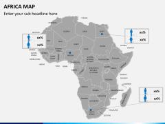 Africa map PPT slide 14