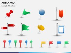 Africa map PPT slide 17