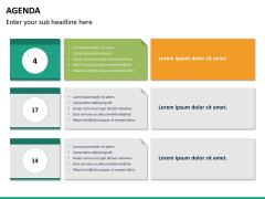 Agenda PPT slide 18
