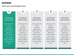 Agenda PPT slide 20