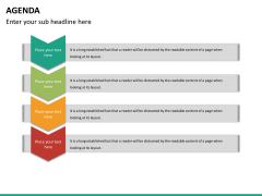 Agenda PPT slide 23