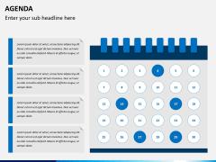 Agenda PPT slide 1
