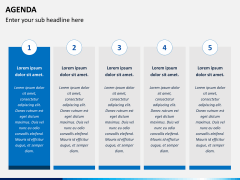 Agenda PPT slide 4