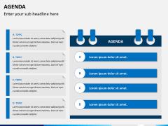 Agenda PPT slide 5