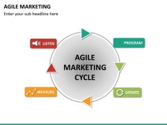 Agile marketing PPT slide 18