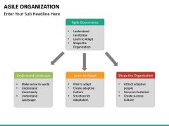 Agile Organization PPT slide 23