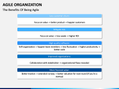 Agile Organization PPT slide 13