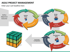 Agile project management PPT slide 14