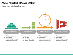 Agile project management PPT slide 25