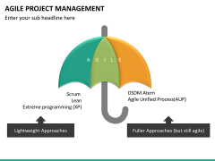 Agile project management PPT slide 16