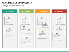 Agile project management PPT slide 22