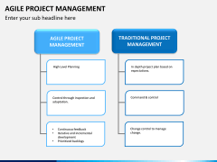 Agile project management PPT slide 10