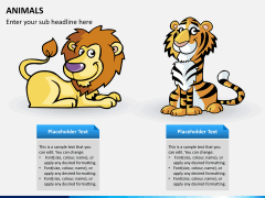 Animals PPT slide 3
