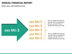 Annual financial report PPT slide 16
