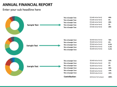 Annual financial report PPT slide 19