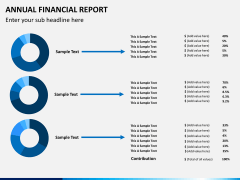 Annual financial report PPT slide 9