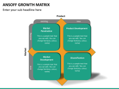 Ansoff growth matrix PPT slide 14