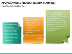 Advanced Product Quality Planning (APQP) Model PPT slide 15