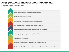Advanced Product Quality Planning (APQP) Model PPT slide 20