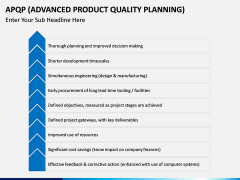 Advanced Product Quality Planning (APQP) Model PPT slide 8