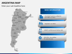 Argentina map PPT slide 17